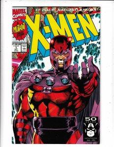 X-MEN #1 FN/VF  JIM LEE MAGNETO VARIANT  SAVE ON SHIPPING