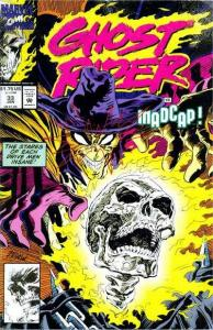 Ghost Rider (1990 series) #33, NM + (Stock photo)