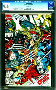 X-Men #5 CGC Graded 9.6 Jim Lee & John Byrne Story