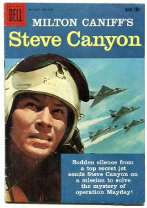STEVE CANYON-FOUR COLOR #1033 1959-TV PHOTO COVER COMIC VG