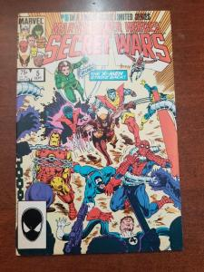MARVEL SUPER HEROES SECRET WARS # 5 AVENGERS VF
