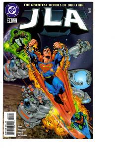 5 JLA DC Comics # 21 22 23 24 25 Superman Batman Wonder Woman Flash Lantern BH13