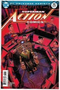 Action Comics #988 Rebirth Variant Cvr (DC, 2017) NM