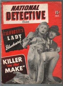 National  Detective Cases-7/1952-WWII era crime stories-Timely-Atlas-Marvel-G