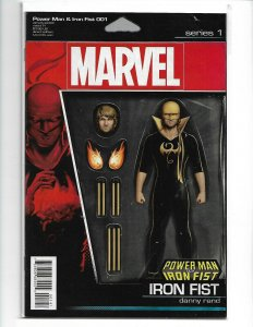 Power Man and Iron Fist #1 Tyler Christopher Action Figure Variant (V27)
