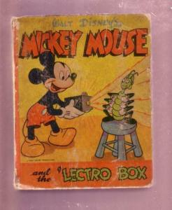 MICKEY MOUSE AND THE LECTRO BOX- 1946 #1413- BLB-DISNEY G-