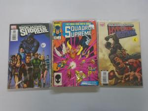 Squadron Supreme (1st, 2nd + Mini Series) 23 Different 8.0/VF