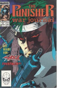 The Punisher War Journal #11 (mid-Nov 89) - Get Ready for Shock Treatment
