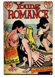 YOUNG ROMANCE-#195 Swimsuit beach cover-Comic Book