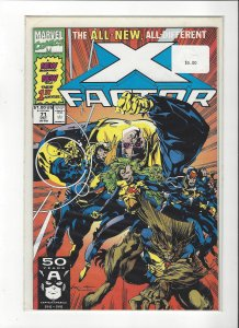 X-Factor #71 All New, All Different Peter David NM