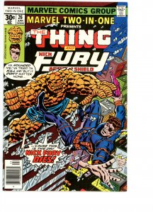 Marvel Two-In-One 26 VG/F  Nick Fury!