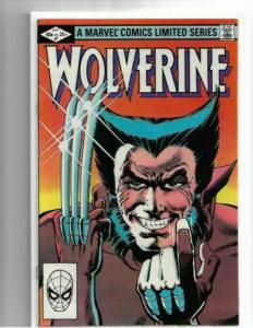WOLVERINE #1 - NM/NM+ 1982 LIMITED SERIES - CLASSIC MILLER - BRONZE AGE KEY