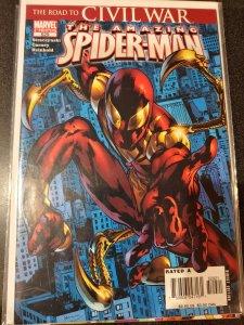 Amazing Spider-Man #529 Variant 2nd Print 1st App Iron Spider 2006 Marvel