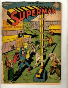 Superman # 31 GD DC Golden Age Comic Book Smallville Jimmy Olsen  GK1
