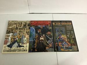 League Of Extraordinary Gentlemen Vol 1 2 Black Dossier TPB lot SC