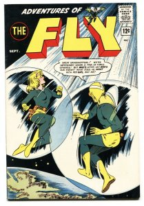 Adventures of The Fly #27 1963-Archie-Fly Girl-Black Hood-VF