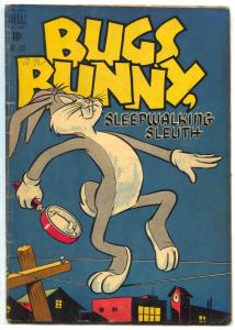 Bugs Bunny Sleepwalking Sleuth-Four Color Comics #233 1949