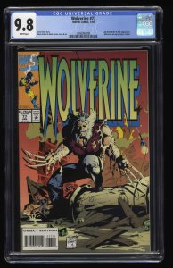 Wolverine (1988) #77 CGC NM/M 9.8 White Pages