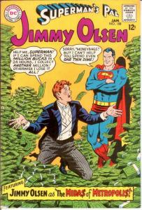 JIMMY OLSEN 108 F-VF Jan. 1968 COMICS BOOK