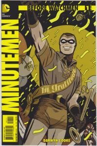 Before Watchmen: Minutemen #1