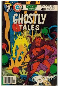 GHOSTLY TALES (1966-1984) 134 VG-F Ditko cover & art