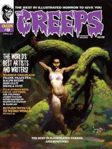 THE CREEPS #9 - FIRST PRINTING - COMIC HORROR MAGAZINE