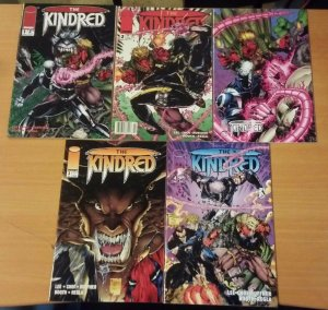 The Kindred 1-4 Complete Set Run! + Variant ~ NEAR MINT NM ~ 1994 Image Comics