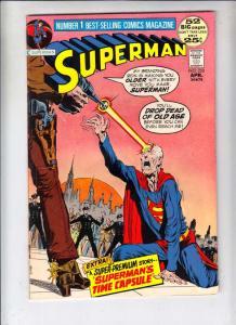 Superman #250 (Apr-72) FN+ Mid-Grade Superman