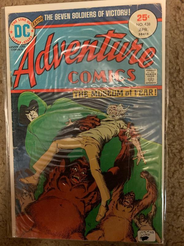 Adventure Comics (1938) 438 Good/Very Good (3.0) Spectre