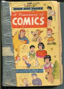 Treasury of Comics 1948-St John-biggest comic ever-Ella Cinders-16 comics-FR