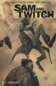 Sam and Twitch #23 VF/NM; Image   save on shipping - details inside