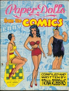 Paper Dolls From The Comics 1987-Trina Roberts-Katy Keene-VG/FN