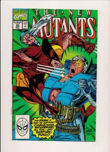 THE NEW MUTANTS #93 - Marvel Comics McFarlane 1990 VF/NM (PF32)