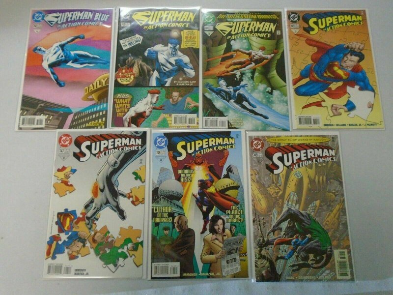 Action Comics Lot From #700-749 47 Different 8.0 VF (1994-1999)
