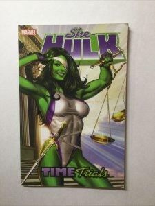 She-Hulk Time Trials Volume Vol 3 Tpb Softcover Sc Fine+ Fn+ 6.5 Marvel