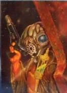 1996 Topps Finest Star Wars ZUCKUSS #49 Chromium