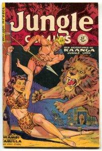 Jungle Comics #132 1950-Kaanga -bondage cover- VG-