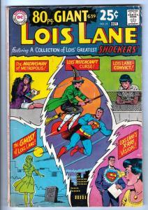 Superman's Girlfriend Lois Lane #77 (Oct-67) VG+ Affordable-Grade Superman, L...