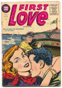 First Love Illustrated #55 1955-Harvey comics- Circus story FN