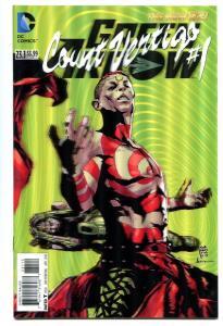 Green Arrow-#23.1-Count Vertigo -#1-3-D Variant-New 52-2nd Print-NM