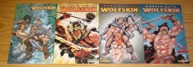 Wolfskin Annual #1 VF/NM one-shot + painted + wrap + auxiliary variant ELLIS