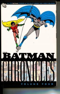 Batman Chronicles Volume 4 TPB trade