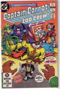 Captain Carrot and His Amazing Zoo Crew   #12 VG