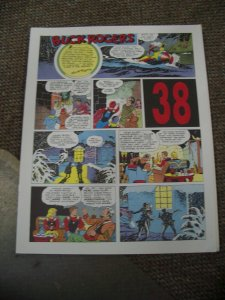 BUCK ROGERS #38-ITALIAN SUNDAY STRIP REPRINTS-CALKINS FN