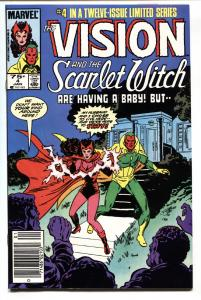 Vision and the Scarlet Witch #4-1985-comic book-Infinity War movie