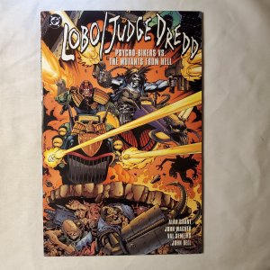 Lobo Judge Dredd Psycho Biker 1 Very Fine+
