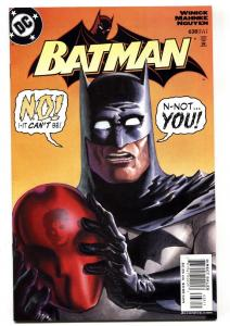 Detective Comics #638 comic book-RED HOOD revealed as JASON TODD