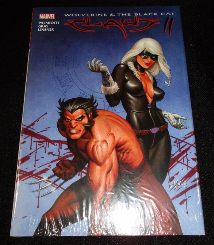 Wolverine & Black Cat Claws 2 Hardcover Graphic Novel (Marvel) - New/Sealed!