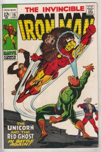 Iron Man #15 (Jul-69) VF/NM High-Grade Iron Man