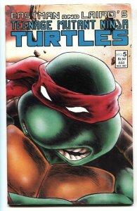 TEENAGE MUTANT NINJA TURTLES #5 2nd print variant-Mirage-comic book 1987